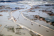 vast flooding after the 1991 bangladesh cyclone